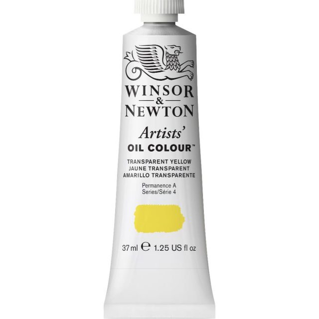 Image of Artists' Oil Colour - Transparent Yellow, 37ml