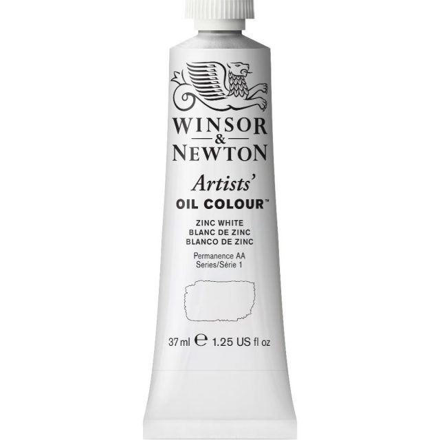 Image of Artists' Oil Colour - Zinc White, 37ml