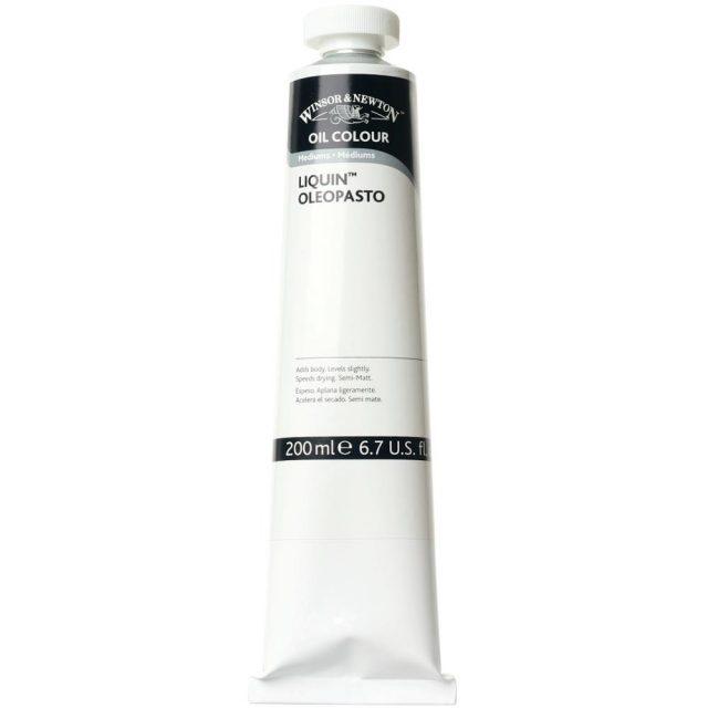 Image of Mediums - Winsor & Newton Oil Colour Medium, Liquin Oleopasto Medium, 200ml