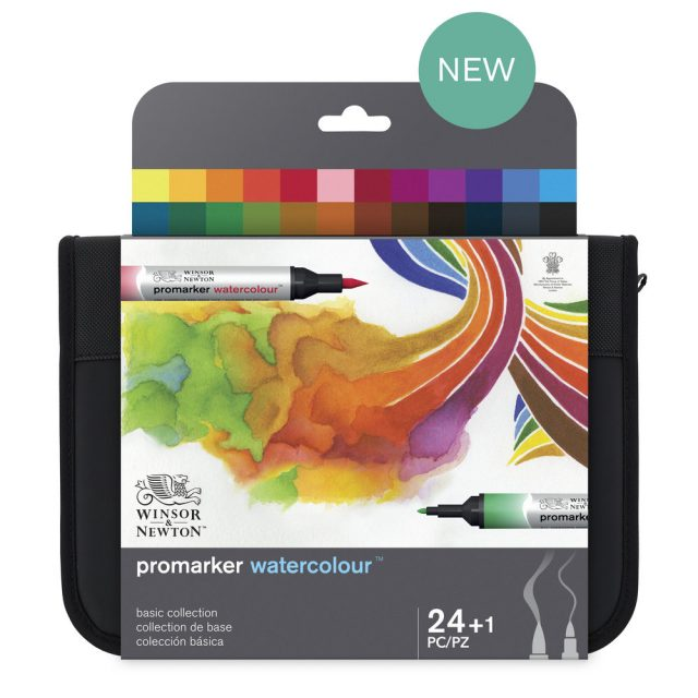 Image of Promarker Watercolour Set - WN Promarker Watercolour 24 Basic Collection, Set