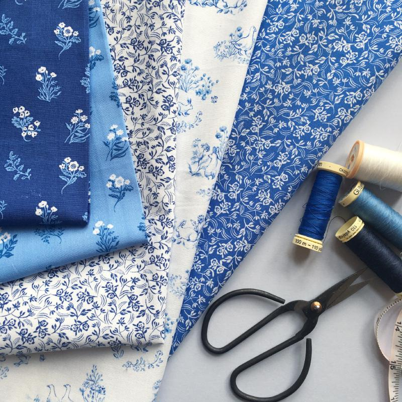 English Garden Fabric collection for Windham Fabrics 2020.