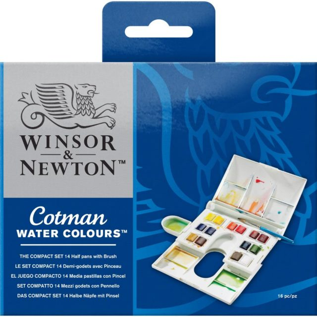 Image of Winsor & Newton Cotman Watercolours Cotman Compact Box