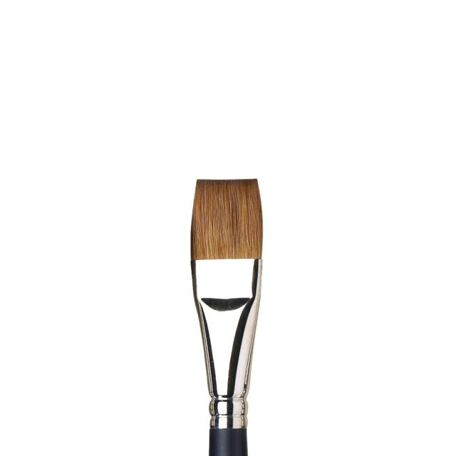 Image of Professional Watercolour Sable Brush - Artists Watercolour Sable, One Stroke, Short Handle, Size 19mm