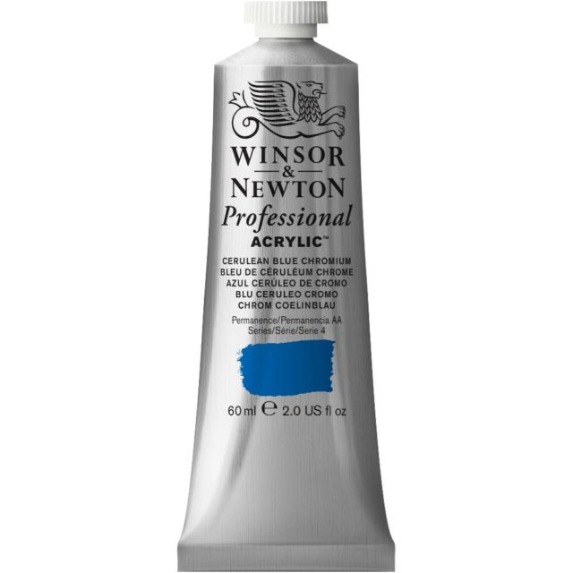 Image of Professional Acrylic - Cerulean Blue Chromium, 60ml