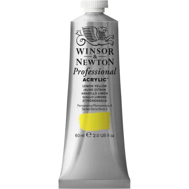 Image of Professional Acrylic - Lemon Yellow, 60ml