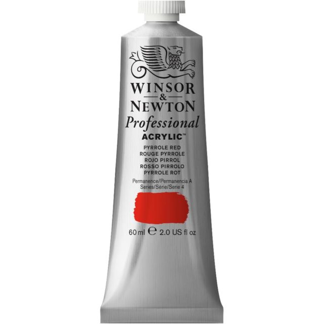 Image of Professional Acrylic - Pyrrole Red, 60ml