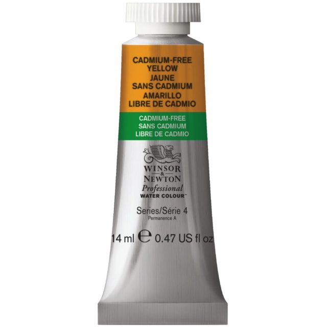 Image of Professional Watercolour - Cadmium-Free Yellow, 14ml