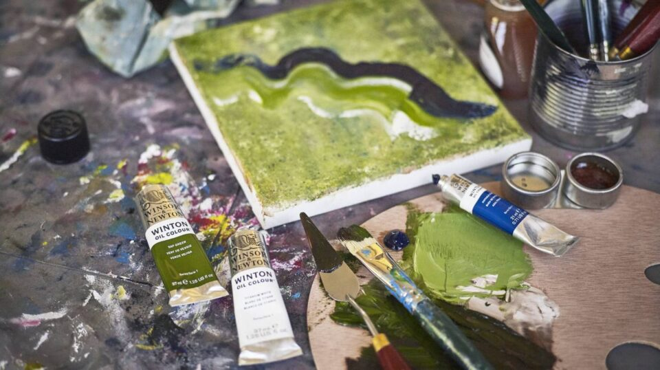 Choosing a surface for oil painting