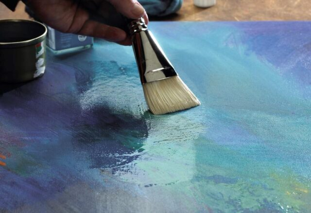Varnishing Paintings