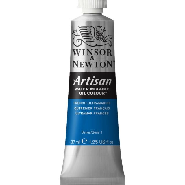Image of Artisan Water Mixable Oil Colour - French Ultramarine, 37ml