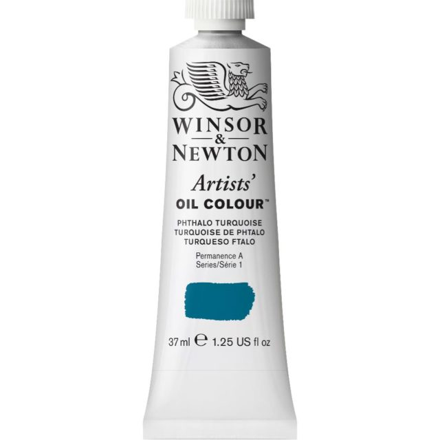 Image of Artists' Oil Colour - Phthalo Turquoise, 37ml