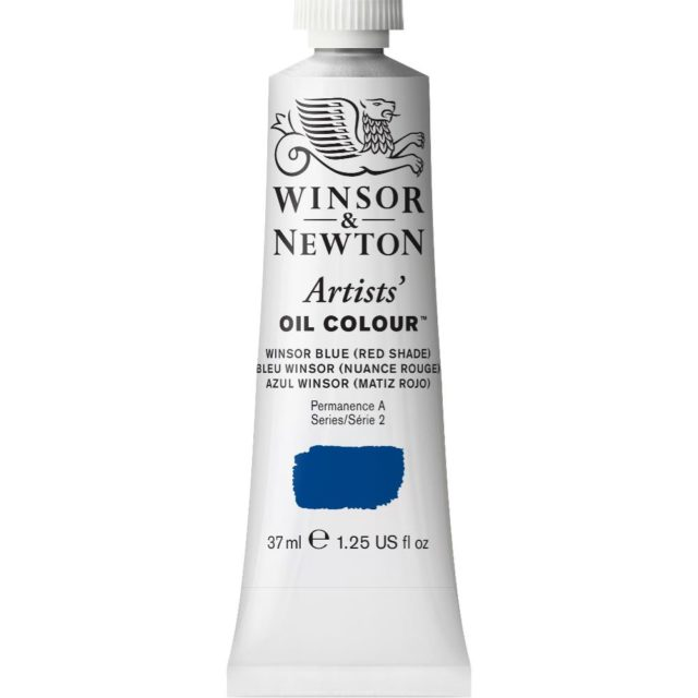 Image of Artists' Oil Colour - Winsor Blue (Red Shade), 37ml