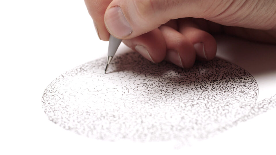 Creating 3D Spheres with Fineliners