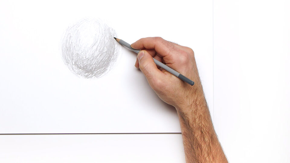 Using the 'Colourless Blender' with your Graphite and Colour Pencils