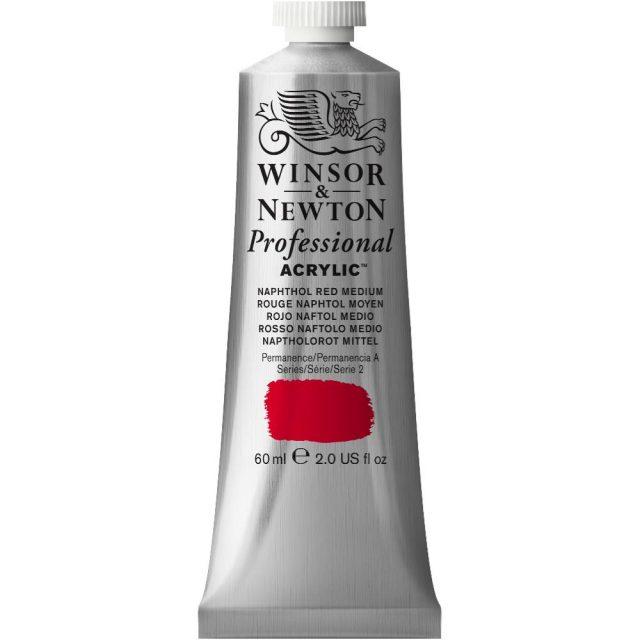 Image of Professional Acrylic - Naphthol Red Medium, 60ml