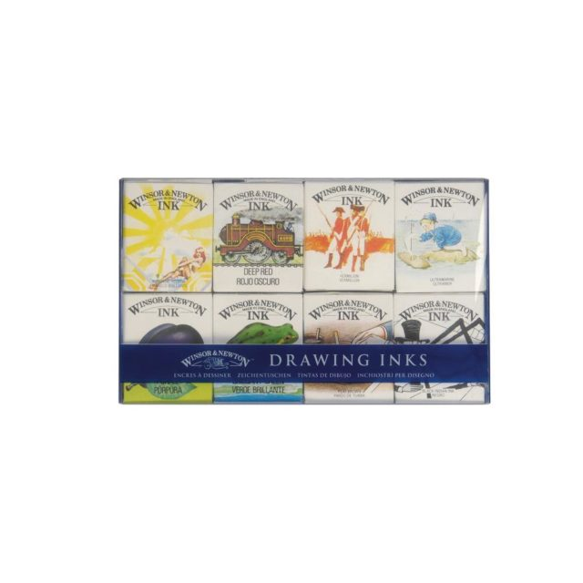 Image of Winsor & Newton Drawing Inks - William Collection Ink Pack