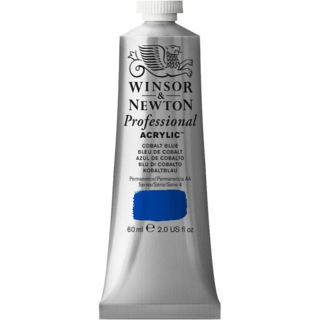 Image of Professional Acrylic - Cobalt Blue, 60ml
