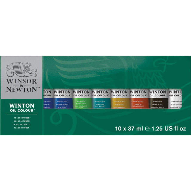 Image of Winsor & Newton Winton Oil Colour 10x37ml Tube
