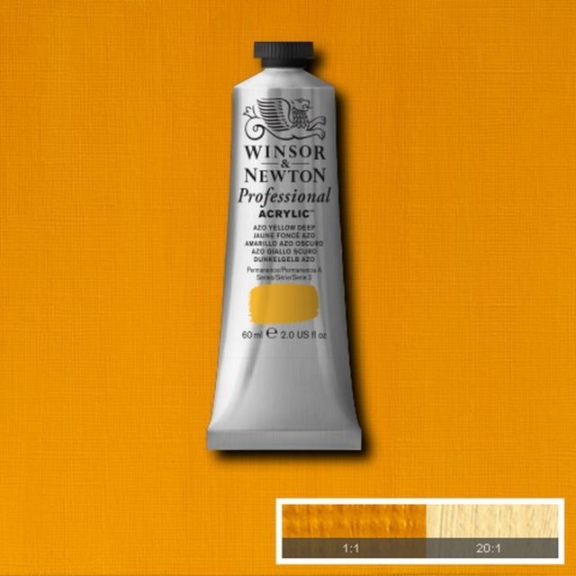 Image of Professional Acrylic - Azo Yellow Deep, 60ml