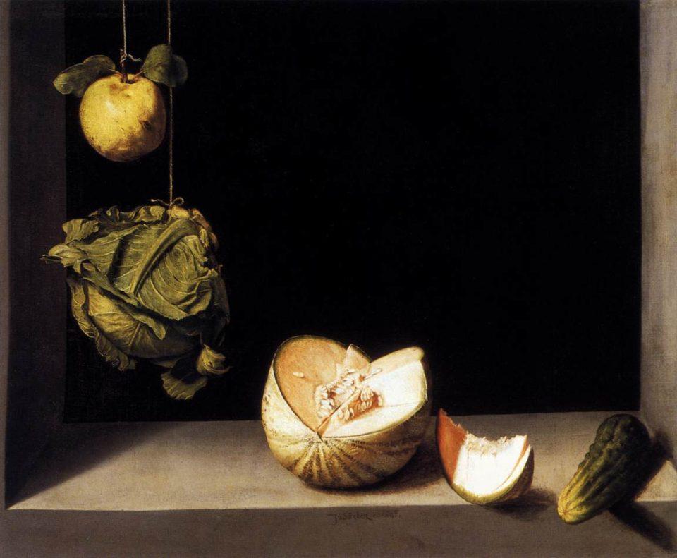 Juan Sánchez Cotán - Quince, Cabbage, Melon, and Cucumber - circa 1600