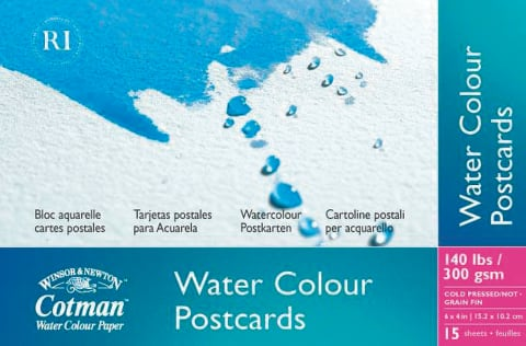 Cotman Watercolour Postcards