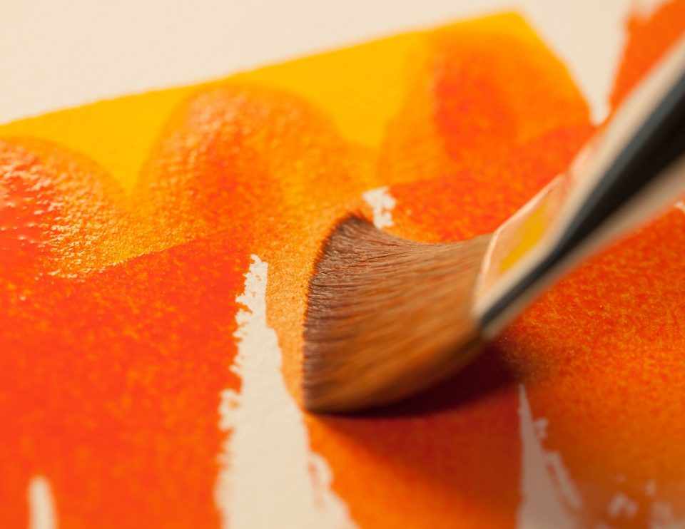 Watercolour surfaces glossary of terms
