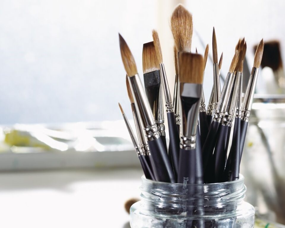 Winsor and Newton brushes