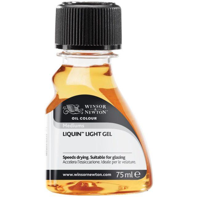 Image of Mediums - Winsor & Newton Oil Colour Medium, Liquin Light Gel Medium, 75ml