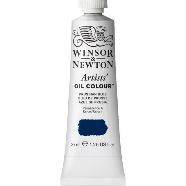 Image of Artists' Oil Colour - Prussian Blue, 37ml
