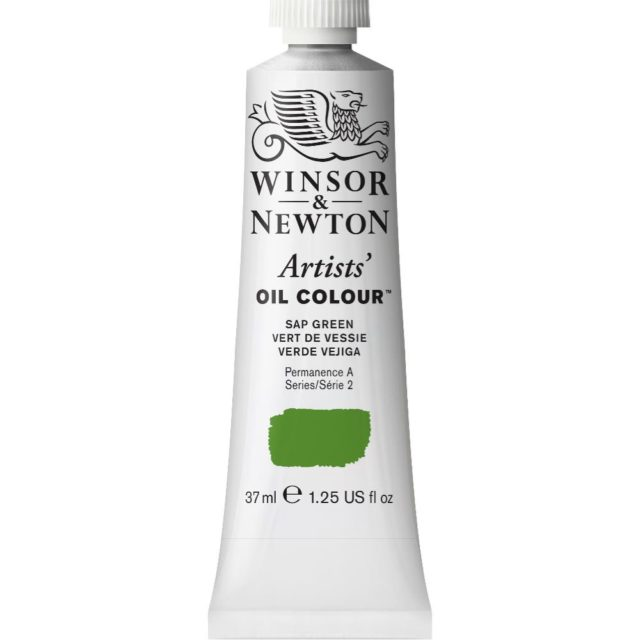 Image of Artists' Oil Colour - Sap Green, 37ml