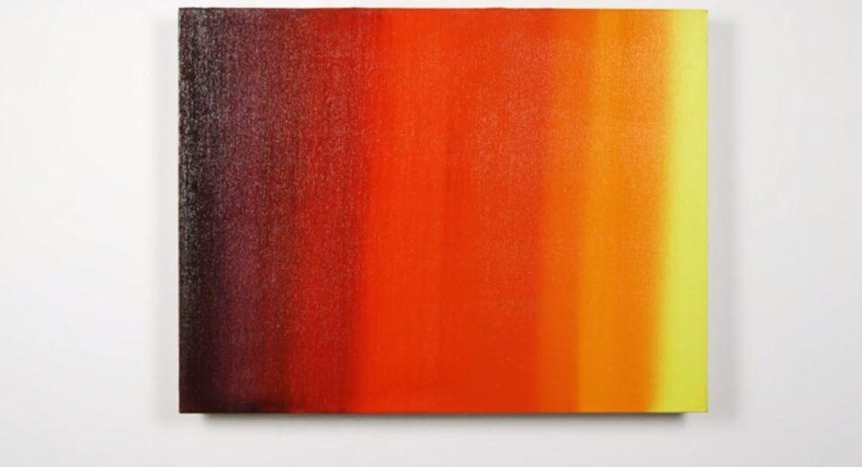image of blended oil paint