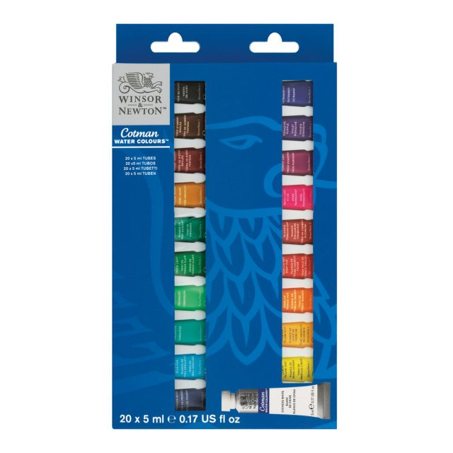 Image of Winsor & Newton Cotman Watercolour Set 20x5ml