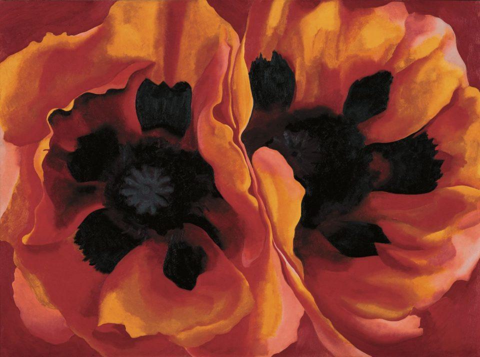 Georgia O'Keeffe, 'Oriental Poppies'