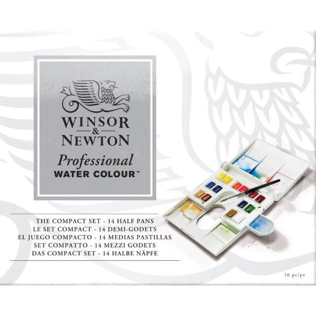 Image of Winsor & Newton Professional Watercolour Compact Set